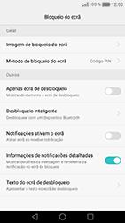 Huawei Honor 8 - Segurança - Como ativar o código de bloqueio do ecrã -  10