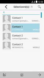 Huawei Y625 - MMS - Envoi d