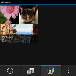 BlackBerry Q10 - Photos, vidéos, musique - Envoyer une photo via Bluetooth - Étape 4