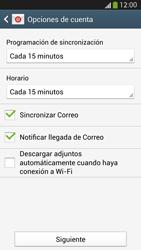 Samsung Galaxy S4 - E-mail - Configurar Yahoo! - Paso 8