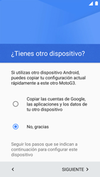 Motorola Moto G 3rd Gen. (2015) (XT1541) - Primeros pasos - Activar el equipo - Paso 10