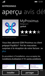 Nokia Lumia 920 LTE - Applications - MyProximus - Étape 8