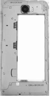 Huawei Y5 II - Primeros pasos - Quitar y colocar la batería - Paso 3