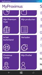 Microsoft Lumia 535 - Applicaties - MyProximus - Stap 20