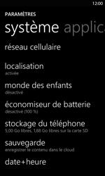 Nokia Lumia 820 LTE - Internet - Configuration manuelle - Étape 4