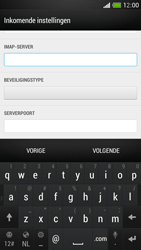 HTC One Mini - E-mail - Account instellen (IMAP zonder SMTP-verificatie) - Stap 10