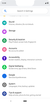 Google Pixel 3XL - Device - Factory reset - Step 6