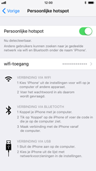 Apple iphone-6-met-ios-11-model-a1586 - WiFi - Mobiele hotspot instellen - Stap 8