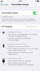 Apple iPhone 7 iOS 11 - WiFi - Mobiele hotspot instellen - Stap 8