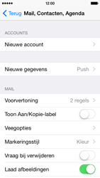 Apple iPhone 5 (Model A1429) met iOS 8 - E-mail - Handmatig instellen - Stap 5
