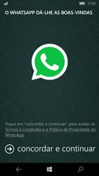 Microsoft Lumia 550 - Aplicações - Como configurar o WhatsApp -  5