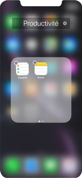 Apple iPhone XR - Applications - Personnaliser l