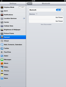 Apple The New iPad - Bluetooth - Pair with another device - Step 7