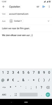 Nokia 9 - E-mail - e-mail versturen - Stap 8