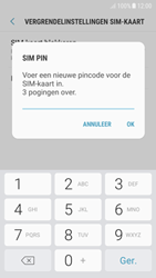 Samsung Galaxy A5 (2017) - Android Nougat - Beveiliging en ouderlijk toezicht - Hoe wijzig ik mijn SIM PIN-code - Stap 9