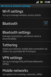 Sony ST27i Xperia Go - Internet - Enable or disable - Step 5