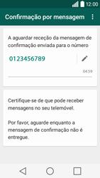 LG Y50 / LEON - Aplicações - Como configurar o WhatsApp -  8