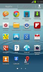 Samsung Galaxy S3 Mini - Internet et connexion - Accéder au réseau Wi-Fi - Étape 3