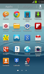 Samsung I8190 Galaxy S III Mini - Wifi - configuration manuelle - Étape 2