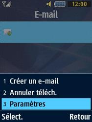 Samsung Solid 271 - E-mails - Ajouter ou modifier un compte e-mail - Étape 19