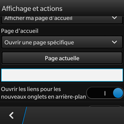 BlackBerry Q10 - Internet - configuration manuelle - Étape 20