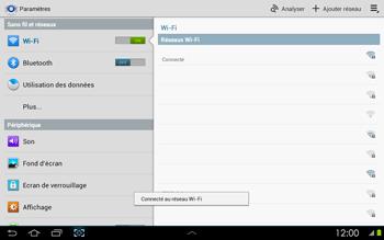 Samsung P5100 Galaxy Tab 2 10-1 - Wifi - configuration manuelle - Étape 6