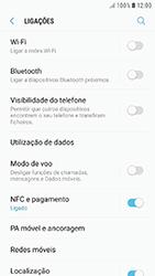 Samsung Galaxy A3 (2016) - Android Nougat - Internet no telemóvel - Como ativar os dados móveis -  5