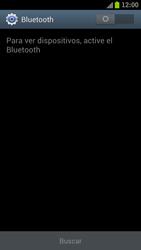 Samsung I9300 Galaxy S III - Bluetooth - Conectar dispositivos a través de Bluetooth - Paso 5