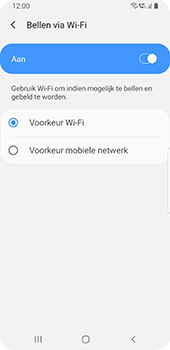 Samsung galaxy-s9-android-pie - Bellen - bellen via wifi (VoWifi) - Stap 10
