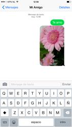 Apple iPhone 6 Plus iOS 8 - Mensajería - Escribir y enviar un mensaje multimedia - Paso 14