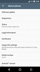 Sony Xperia X Performance (F8131) - Device - Software update - Step 6