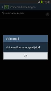 Samsung N9005 Galaxy Note III LTE - Voicemail - Handmatig instellen - Stap 9