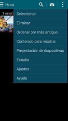 Samsung G900F Galaxy S5 - Bluetooth - Transferir archivos a través de Bluetooth - Paso 5