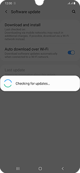 Samsung Galaxy A50 - Device - Software update - Step 7