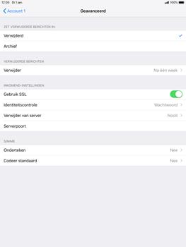 Apple ipad-mini-5-7-9-inch-2019-model-a2124 - E-mail - Account instellen (POP3 met SMTP-verificatie) - Stap 22
