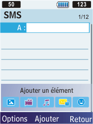 Samsung C3350 Xcover 2 - MMS - envoi d'images - Étape 4