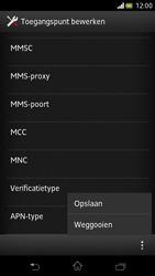 Sony LT30p Xperia T - MMS - handmatig instellen - Stap 14