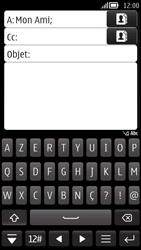 Nokia 808 PureView - E-mail - envoyer un e-mail - Étape 7
