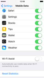 Apple iPhone 5 iOS 10 - Internet - Disable WiFi Assist - Step 6