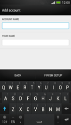 HTC One - E-mail - Manual configuration - Step 16
