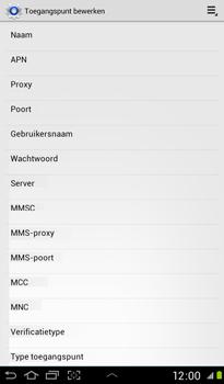 Samsung P3100 Galaxy Tab 2 7-0 - Internet - handmatig instellen - Stap 9