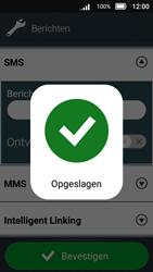 Doro 8031 - SMS en MMS - Handmatig instellen - Stap 12