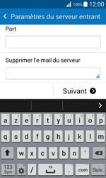 Samsung G318H Galaxy Trend 2 Lite - E-mail - Configuration manuelle - Étape 12