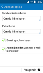 Samsung G388F Galaxy Xcover 3 - E-mail - e-mail instellen: POP3 - Stap 17
