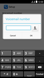 Huawei Y625 - Voicemail - Manual configuration - Step 10
