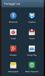 Samsung Galaxy Express - Photos, vidéos, musique - Envoyer une photo via Bluetooth - Étape 10