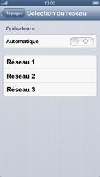 Apple iPhone 5 - Réseau - utilisation à l'étranger - Étape 8