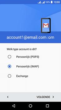 Acer Liquid Zest 4G Plus - E-mail - e-mail instellen: IMAP (aanbevolen) - Stap 12