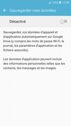 Samsung Galaxy S6 - Android M - Device maintenance - Back up - Étape 8