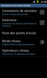 Samsung I9070 Galaxy S Advance - Internet - activer ou désactiver - Étape 6